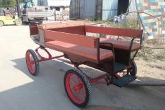 Kazenkin.ru линейка экипаж для лошади купить